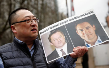US calls China to release Canadians