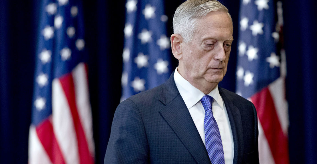 Trump's reaction over Mattis' resignation