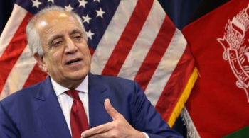 US envoy Khalilzad