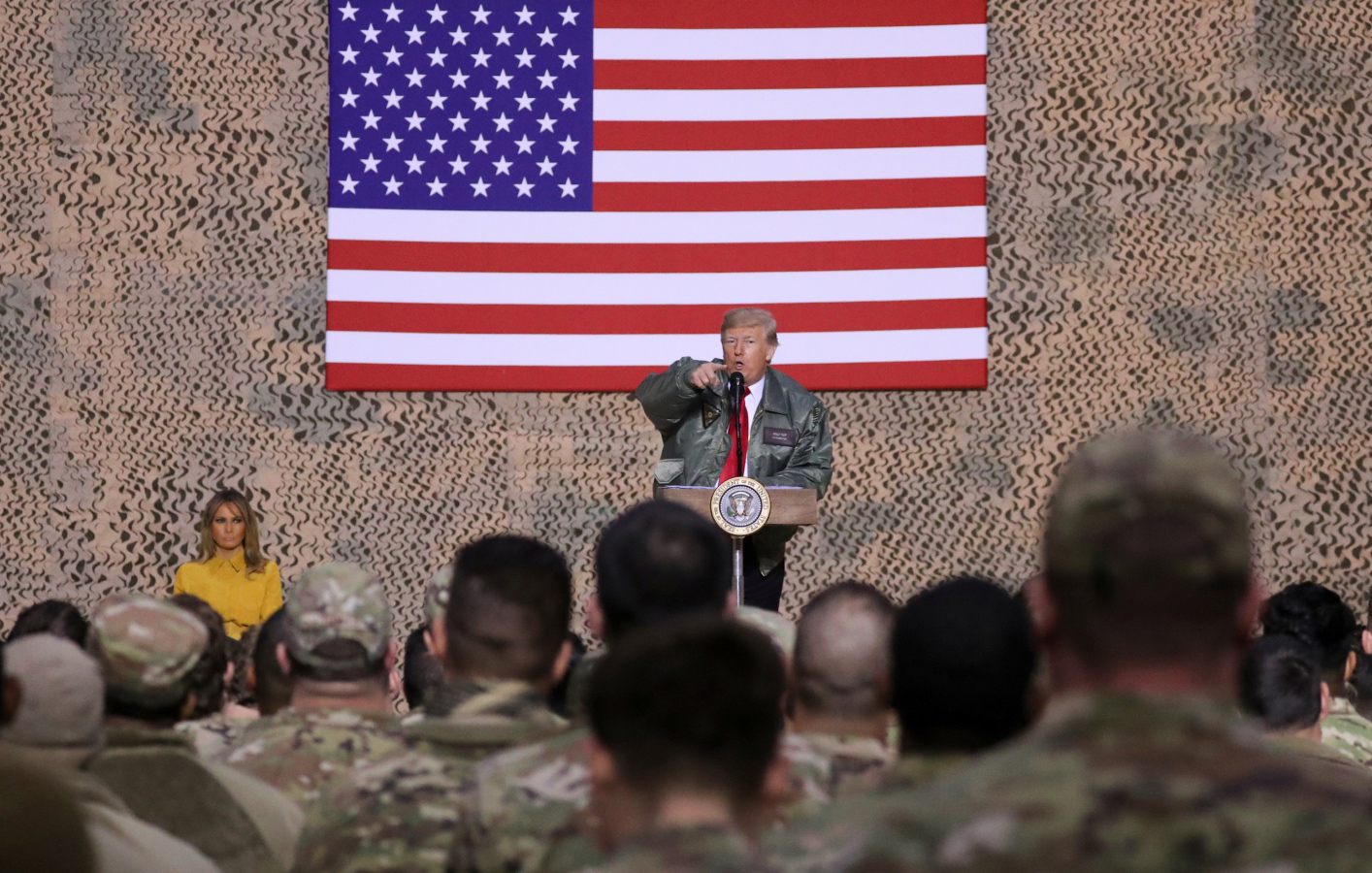 Why United States would not be able to pull troops from Syria