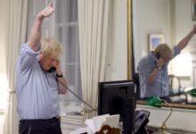 Boris Johnson talks to Joe Biden in first call