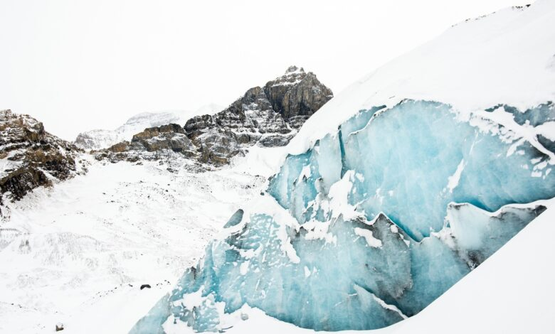 Once in a while: Iceland's evaporating ice sheets